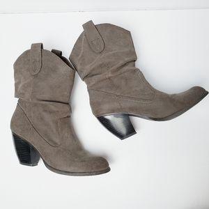 Fergalicious Western Slouchy Boots 9